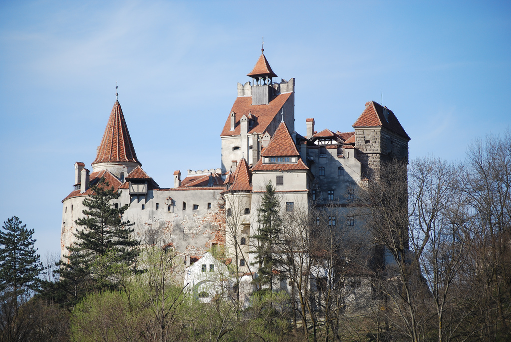 great castles of europe bran castle