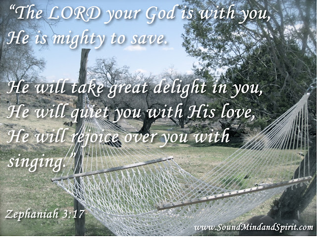Zephaniah 3:17, The Lord your God is with you