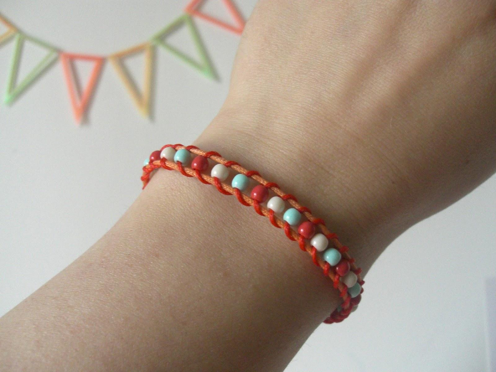 Berühmt Gabulle in Wonderland: Petit bracelet acidulé à faire soi-même QU23