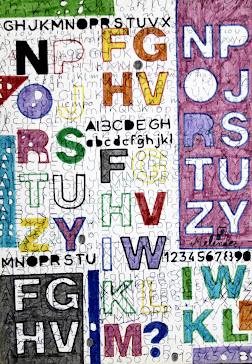 Grafismo de letras  6-10-92