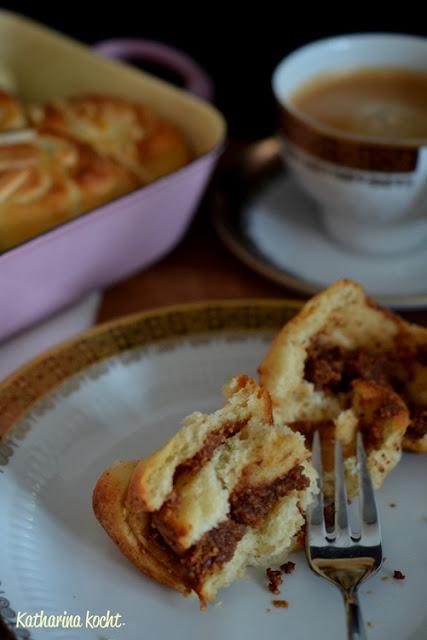 Hefeschnecken Puddingschnecken Nussschnecken zuckerfrei