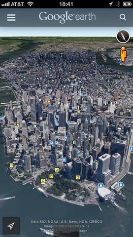 تحميل برنامج جوجل ايرث للايفون والايباد Download Google Earth