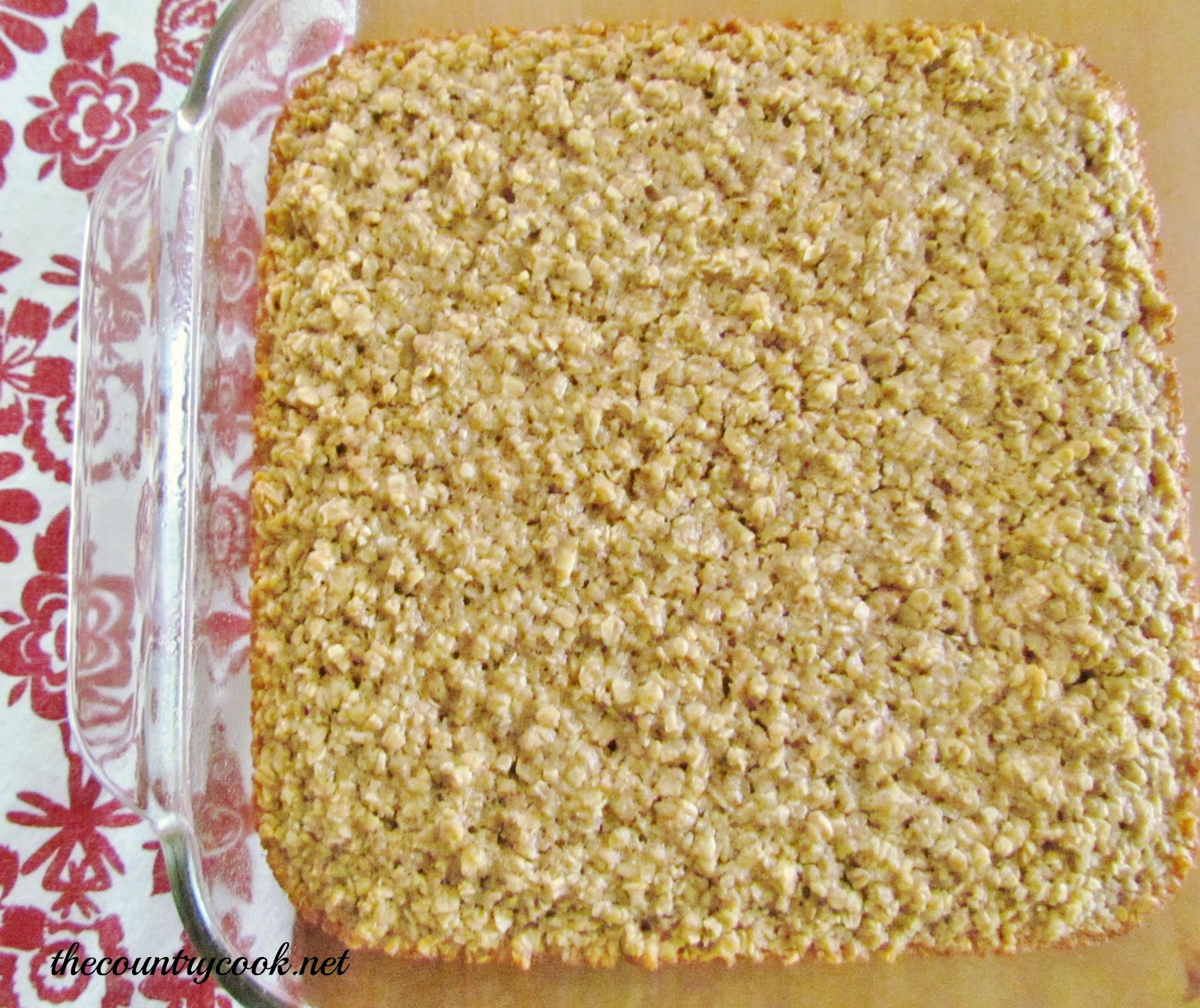 The Country Cook: Maple & Brown Sugar Baked Oatmeal