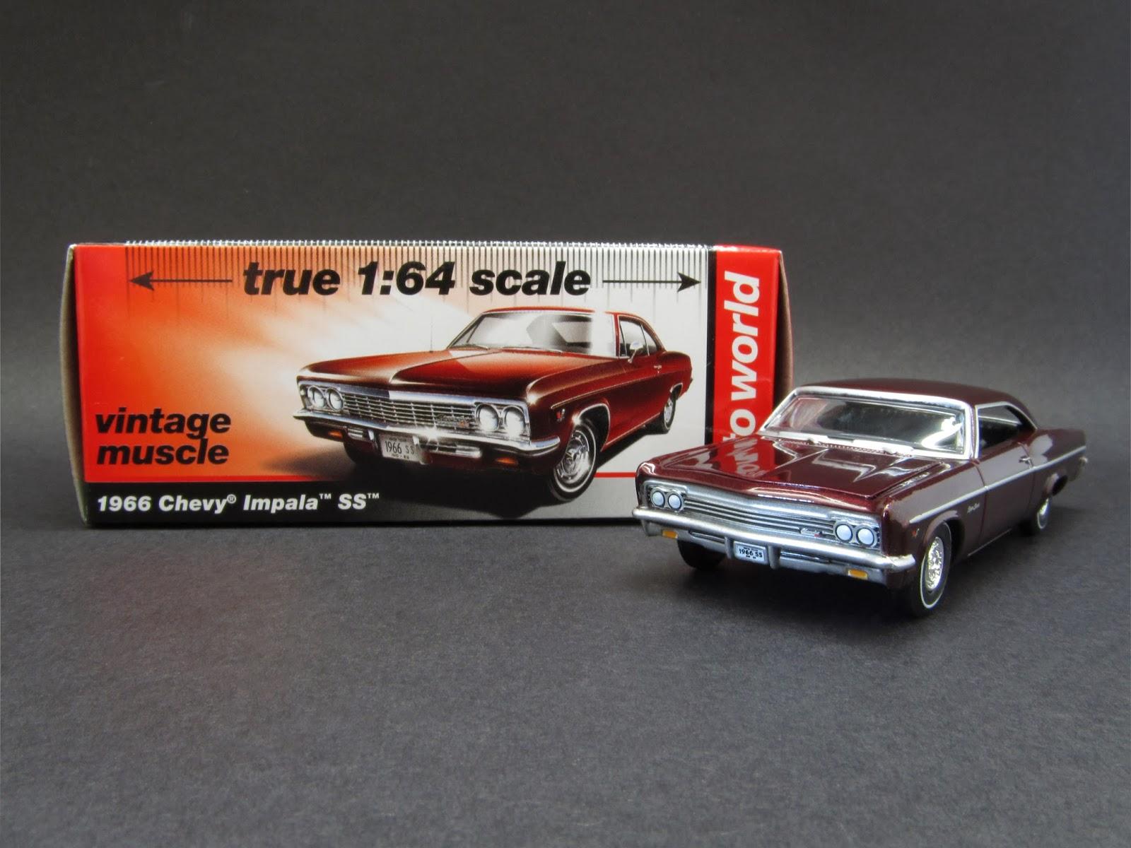 Diecast Hobbist 1966 Chevrolet Impala Ss Chevy