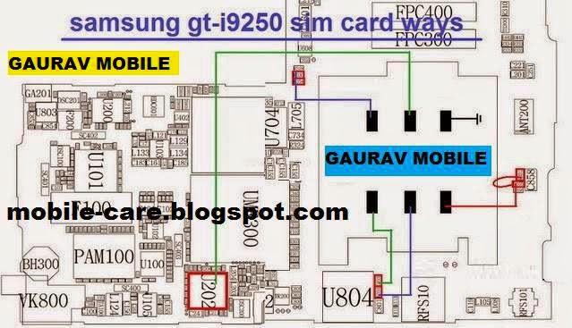 Samsung Gt I9250 Repair Sim Problem Jumper Solution Mobilerdx24