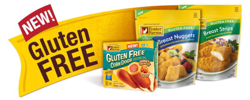 foster farms gluten free products