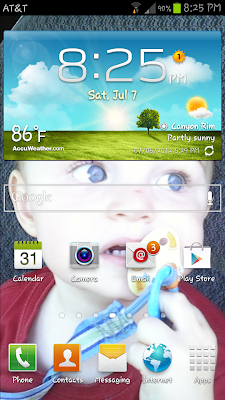 samsung galaxy s3 @ everything's hanging on this moment