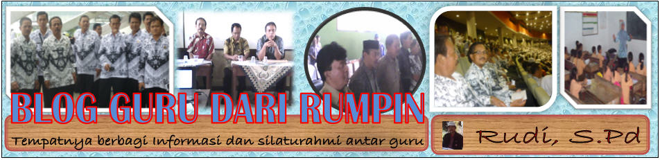 BLOG GURU DARI RUMPIN