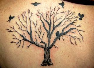 Vegetation and Bird Tattoo
