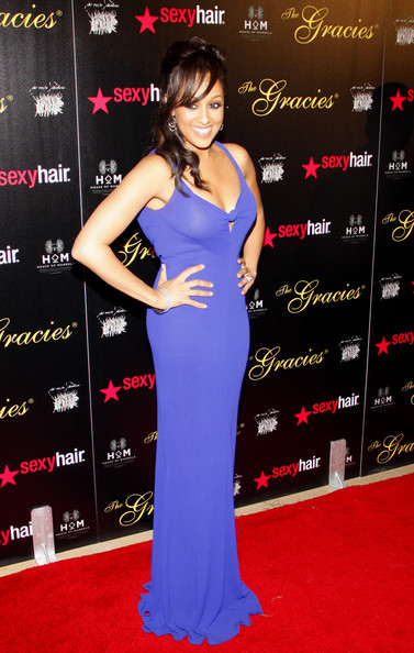 Tia Mowry Evening Dress