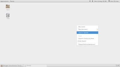 openSUSE 13.1 Milestone 4, GNOME live ISO Classic Desktop
