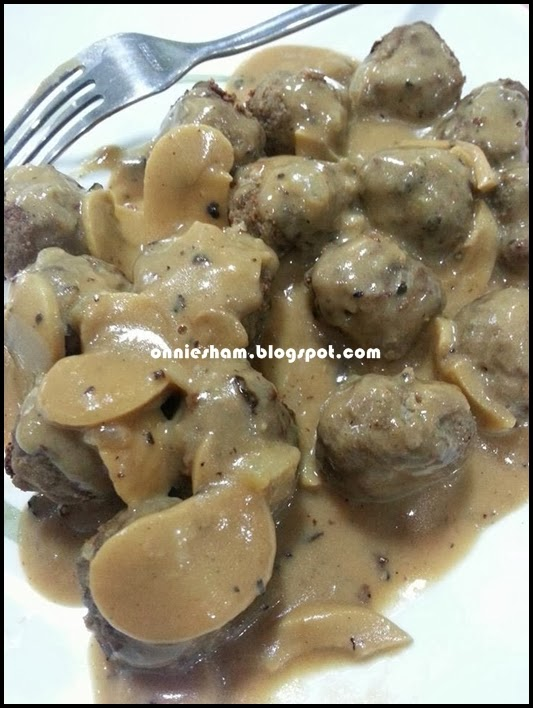 Cinta Hatiku Alysya Damia Meatball Homemade Ala2 Ikea