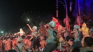 Bona Village. Bali. Kecak.