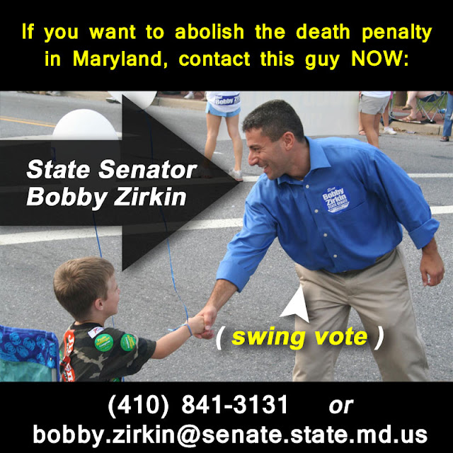 "death penalty in md ""house bill 881 is to reinstitute the death penalty but in limited circumstances,""  said republican anne arundel county delegate michael."