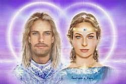 ELOHIM ARTURO Y DIANA (rayo violeta)