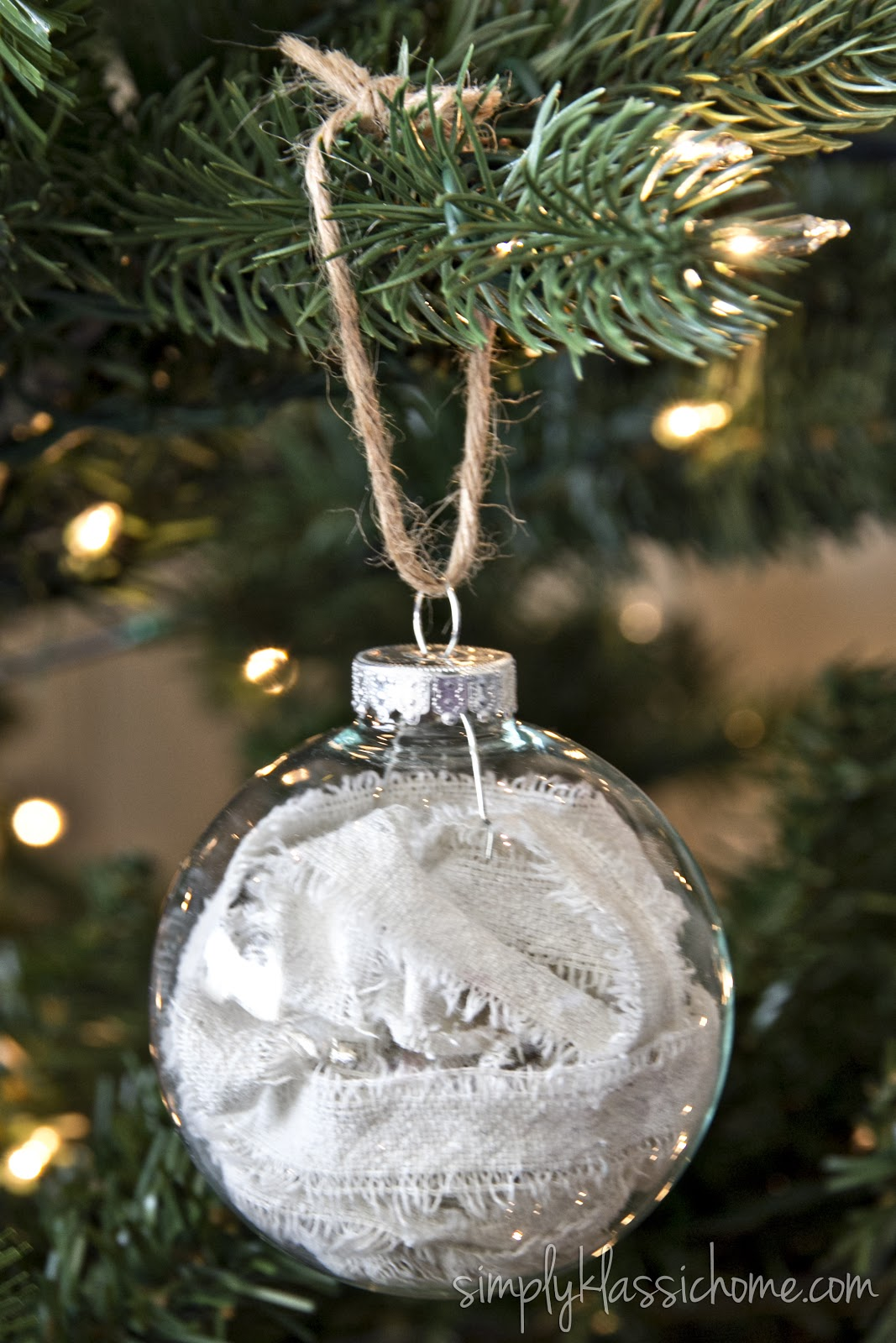 Handmade glass christmas ornaments - Ten Easy Handmade Ornaments In Under An Hour