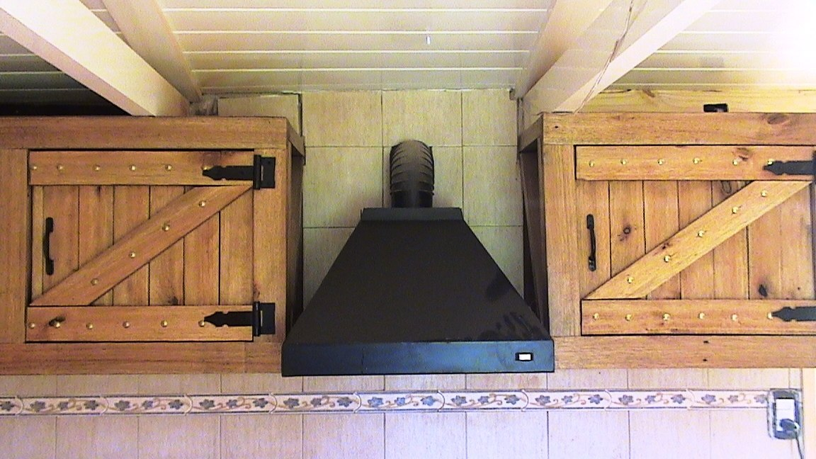 Decoracion de interiores estilo rustico cocina - Muebles de madera rusticos para cocina ...