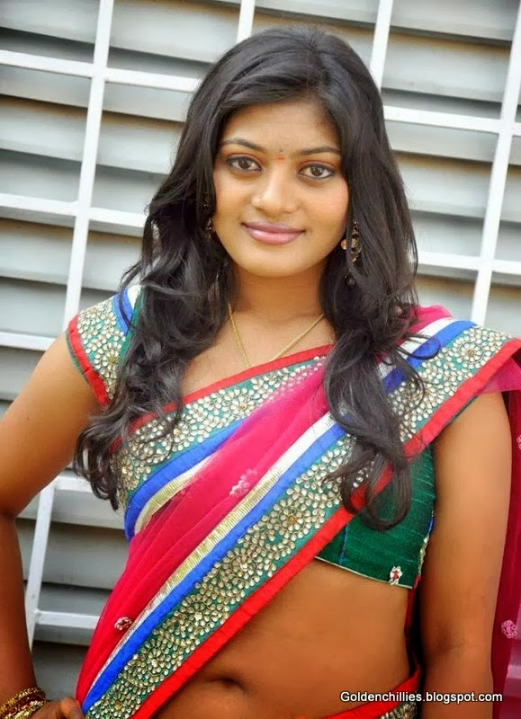 south Indian actress Sowmya latest photos of hot saree photos gallery