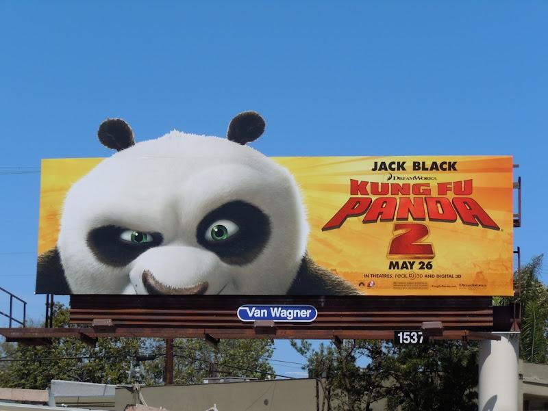 Kung Fu Panda 2 face billboard