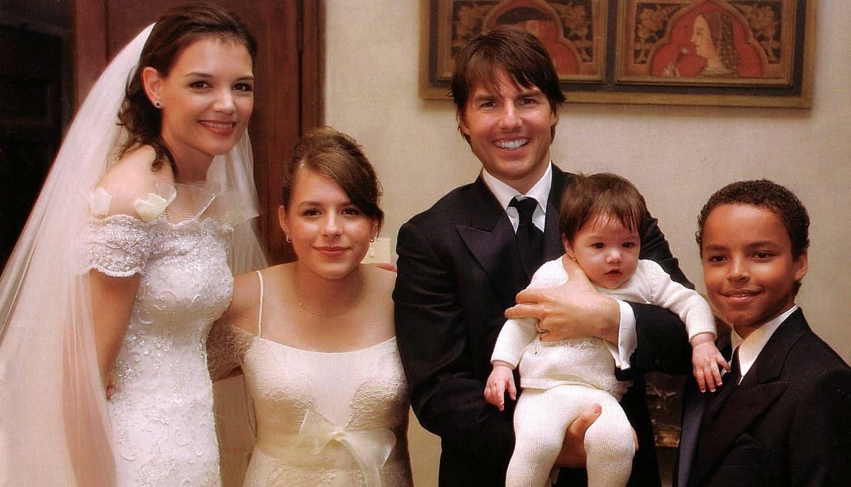 Katie Holmes Wedding Pic