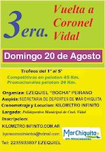 3era. Vuelta a Cnel. Vidal - Rural Bike - 20/08/17