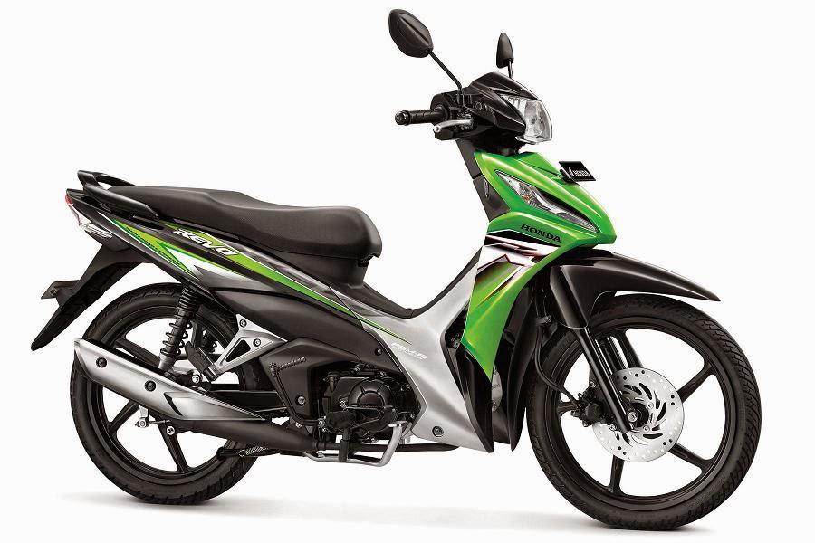 Warna Honda Revo CW PGM-FI hijau