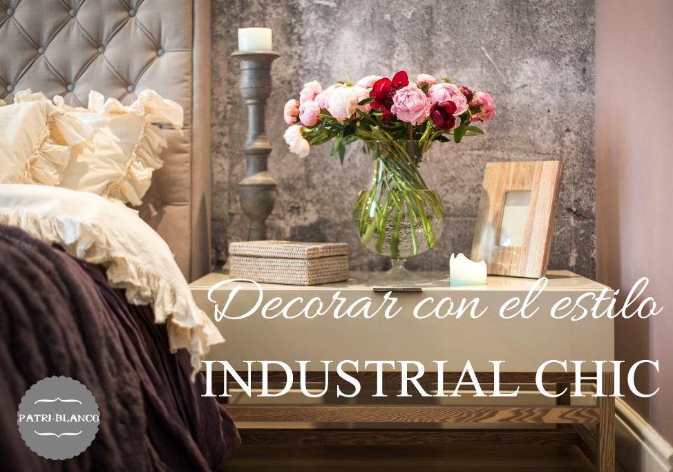 Decoraci n de estilo industrial chic decoraci n patri blanco for Decoracion industrial online