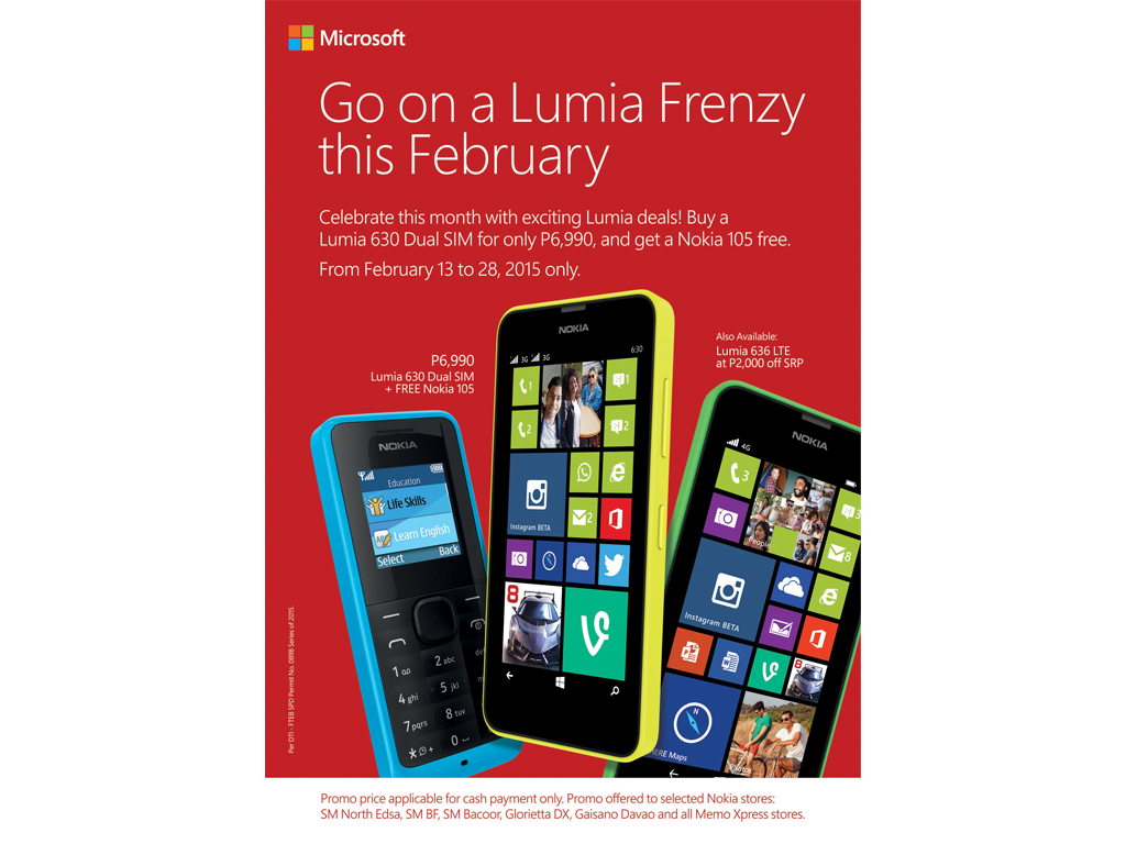 Sale Alert: Lumia 630 Dual SIM and Lumia 636 LTE To Go On Sale This February!