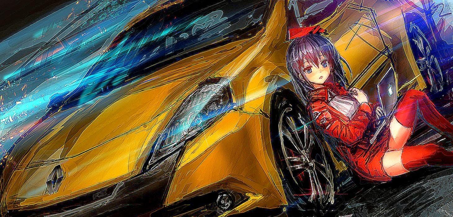 Download Wallpaper Anime Car - girl-car-racer-1503-hd-wallpaper  Collection_99575      .jpg