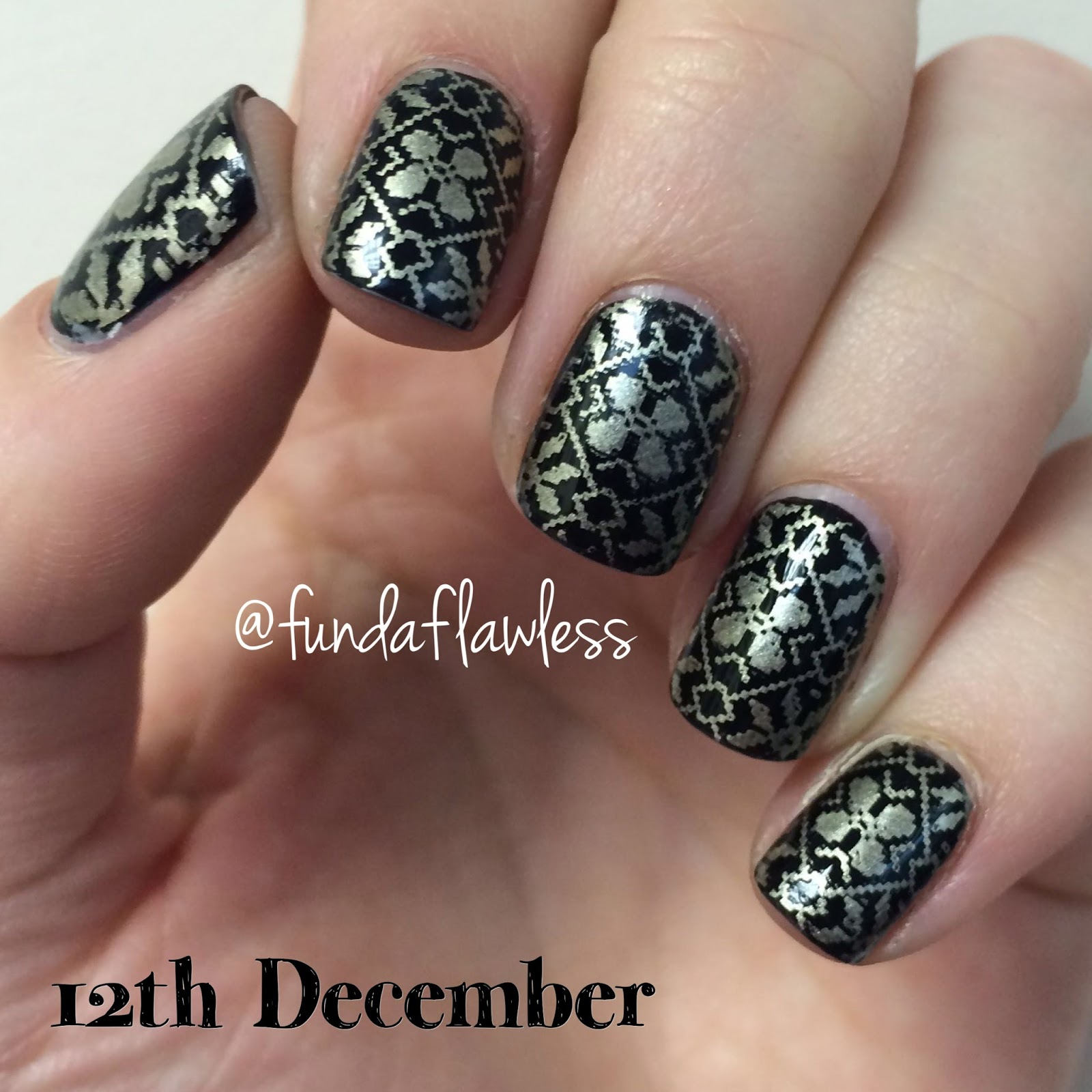 Black and Gold MoYou Festive Collection