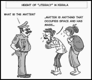 Height of Literacy in Kerala
