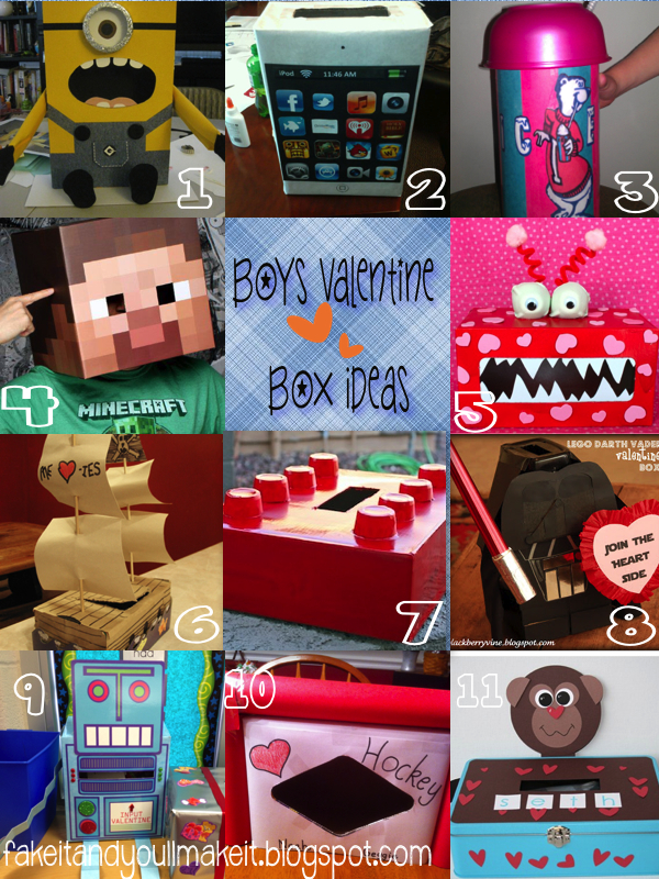 boys valentine box ideas