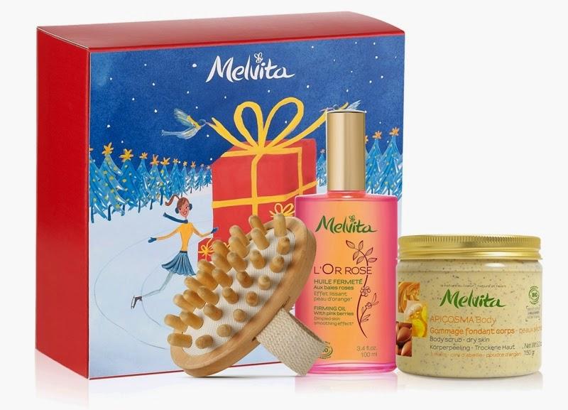 Firming L'Or Rose, L'Or Rose Firming Oil, Apicosma Nourishing Body Scrub, Body Massager, Melvita Christmas Gift Sets, Melvita, Melvita Malaysia, Christmas Set, Christmas Gift