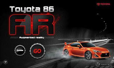Toyota 86 AR apk