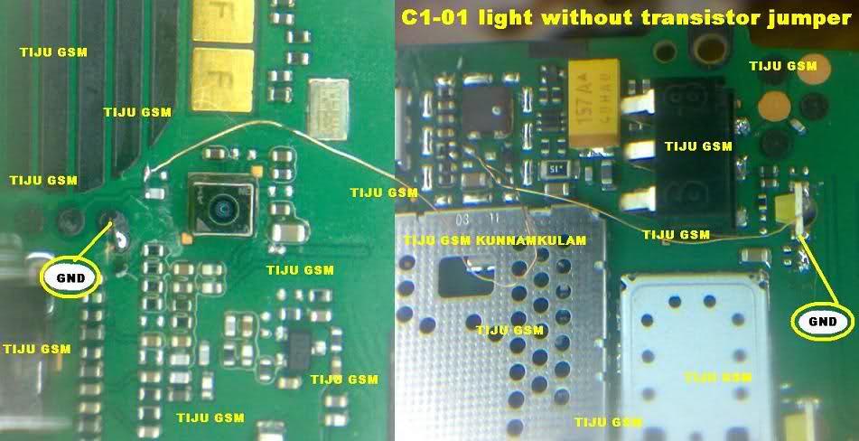 Nokia C1-01 Display Light Solution