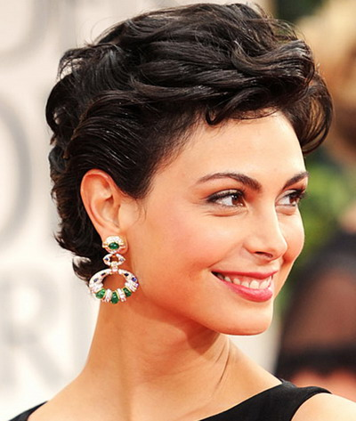 short curly hairstyles 2013 trend