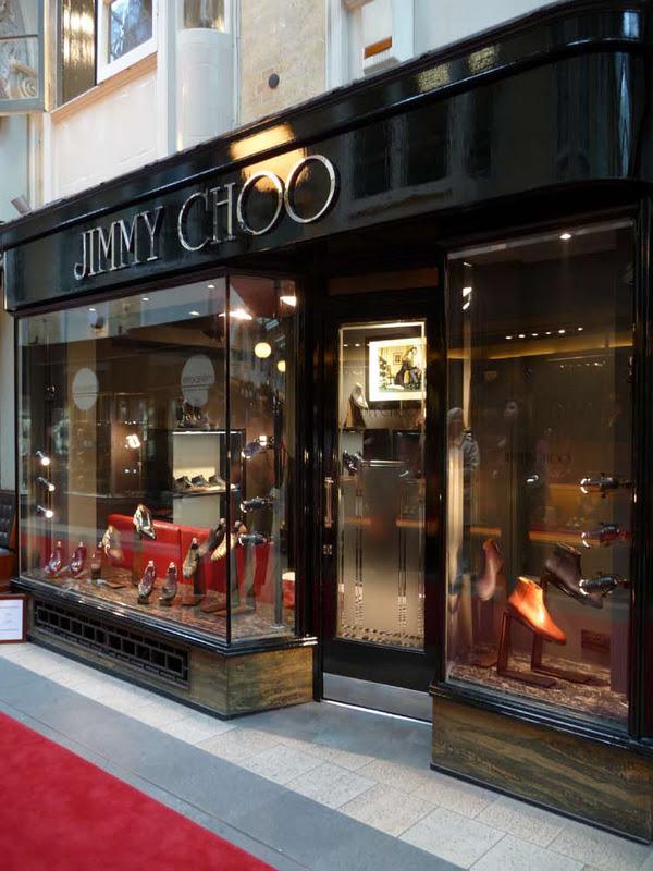 Jimmy Choo X Burlington Arcade Store Last Style Of Defense