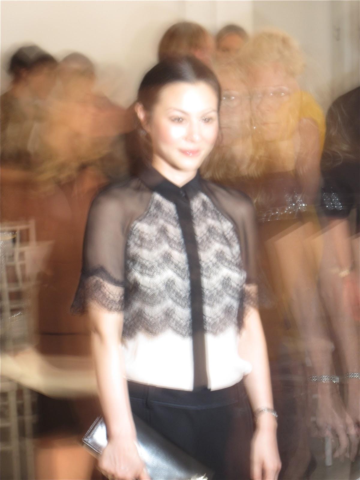China Chow, Jason Wu S/S Show, Brizo New York Fashion Week