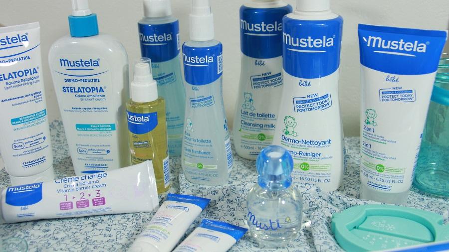 soins bébé mustela