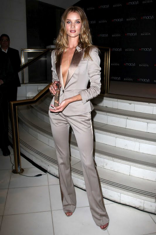 "Rosie Huntington at ""Burberry Body"" Fragrance Launch"