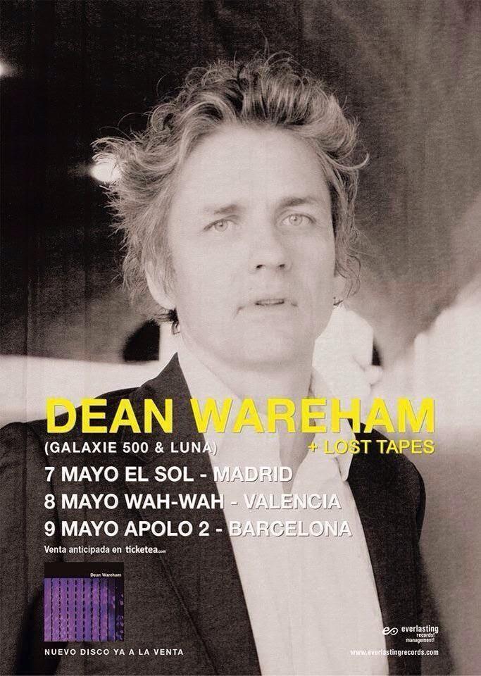 Dean Wareham (Wah Wah, 8-5-14)