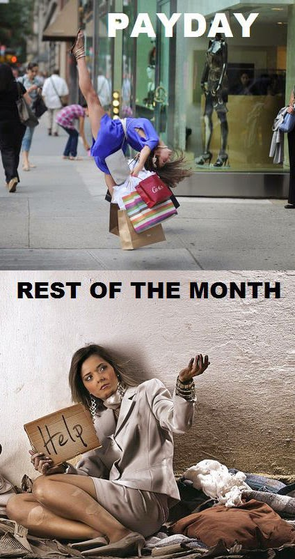 payday v rest of the month
