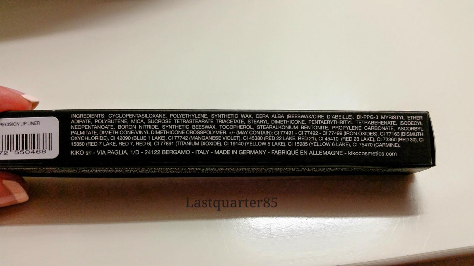 Kiko Automatic Precision Lip Liner 511 inci.