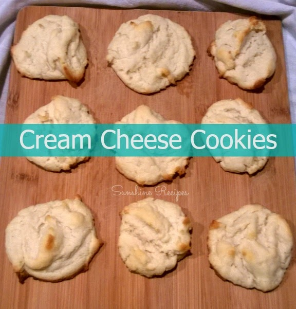Cream Cheese Cookie Recipe- This dessert is easy to bake and is perfect to whip up at the last minute.