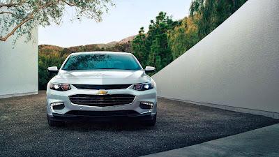 Redesigned 2016 Chevrolet Malibu