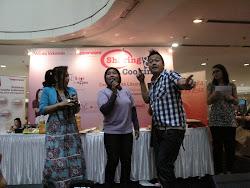Happy Bareng Ulfa Dwijayanti dan Chef Rudi Choiruddin
