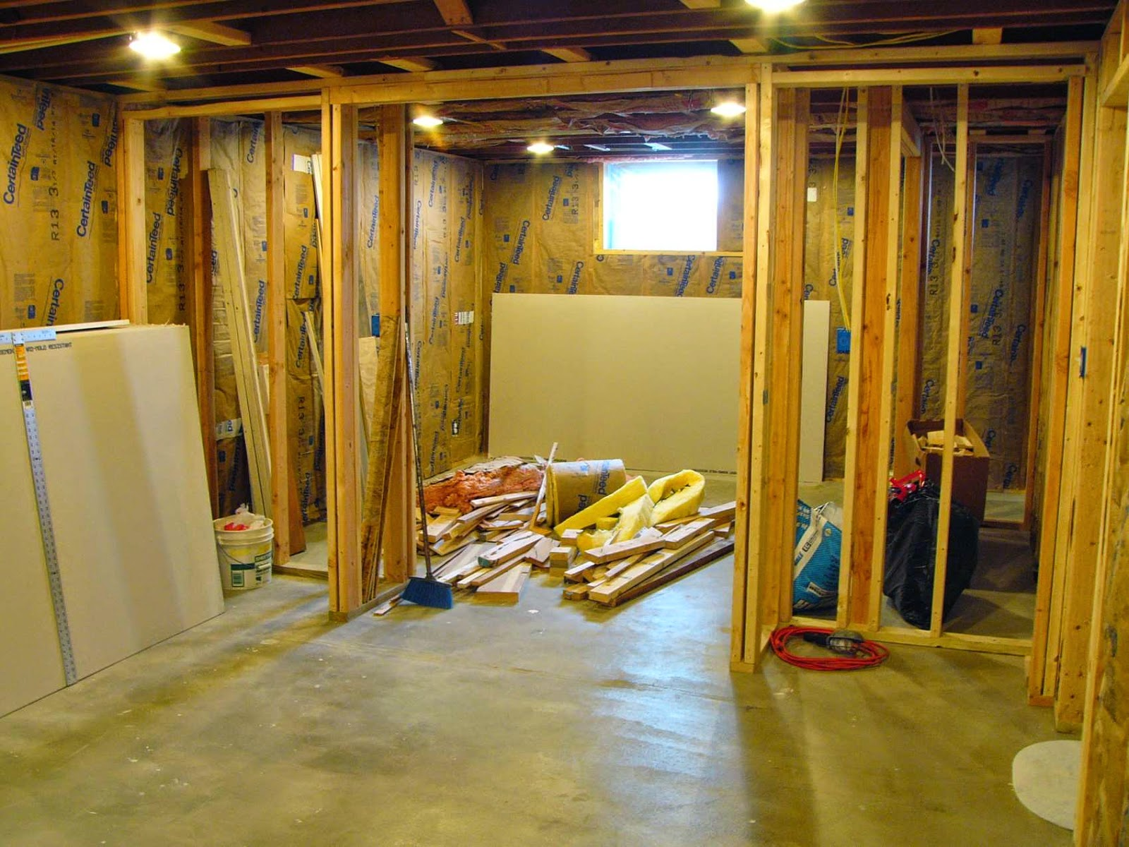 Three Things Very Dull Indeed Basement Remodel Project Framing Overview & Three Things Very Dull Indeed: Basement Remodel Project: Framing ...