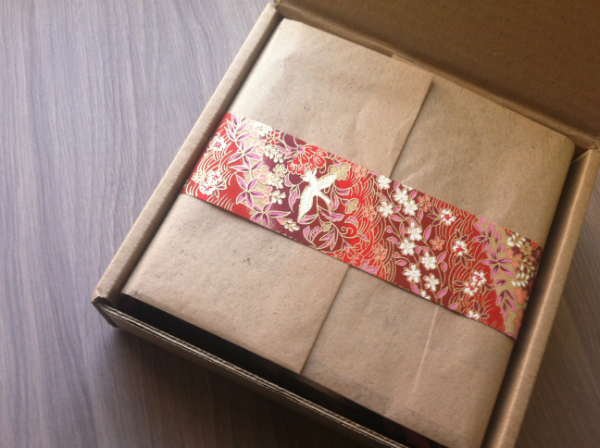 Yuzen Subscription Box - November 2012 Review - Monthy Eco Friendly and Spa Subscription Boxes