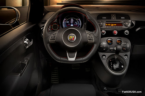 2015 Fiat 500 Abarth Dashboard