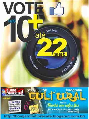 3º Concurso Cultural de Fotografia